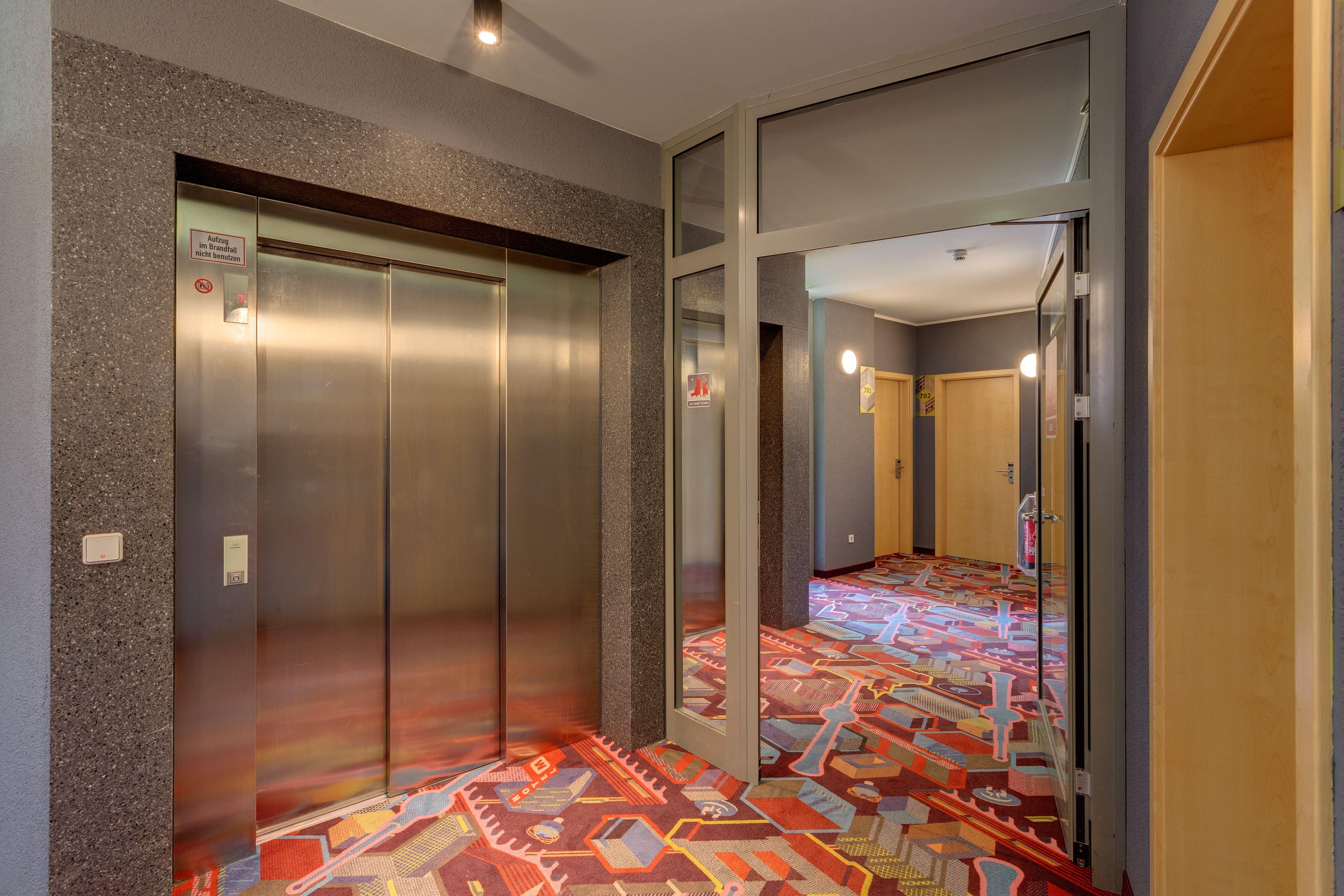Floor At Meininger Hotel Berlin Alexanderplatz