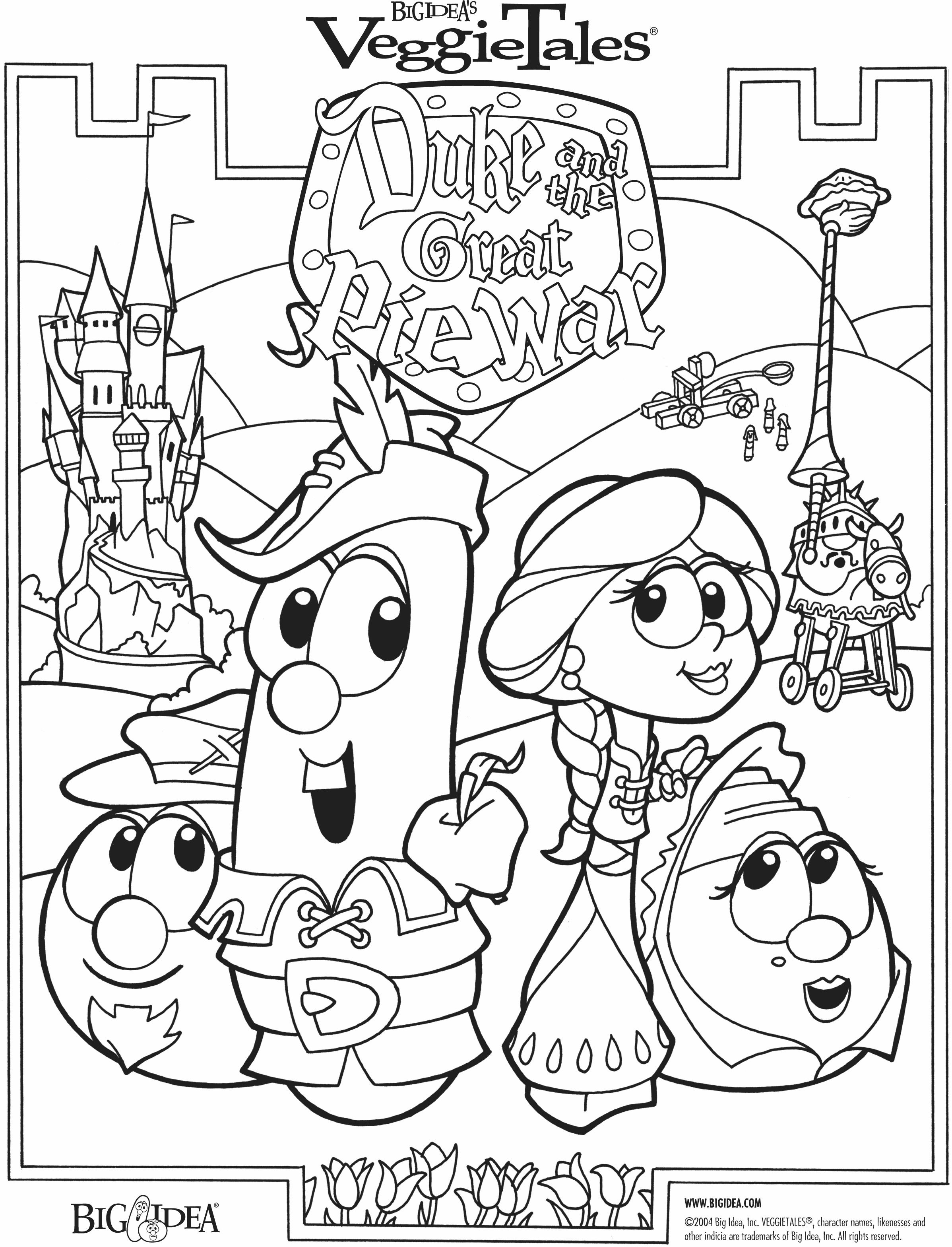 Veggie Tales Easter Coloring Pages Coloring Pages Coloring