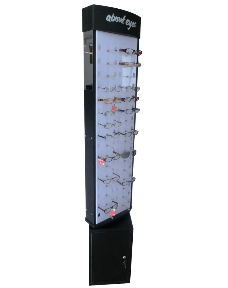 663a759491b1 Eyewear Display Reading Glass Showcase Stand Sunglass Display Kiosk 11601   FixtureDisplays