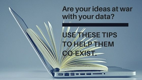 Creative ideas integrated with data are the winning combination for a content marketing strategy.
