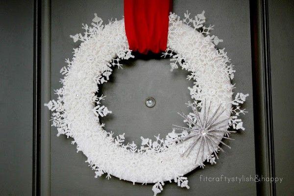 AliLily 50 Wonderful Christmas Wreath Ideas Anything Pinterest - christmas wreath decorations