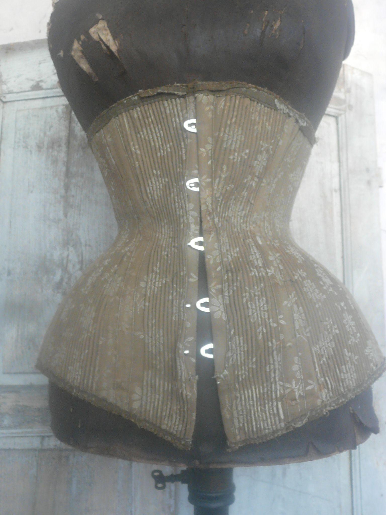 antique corset