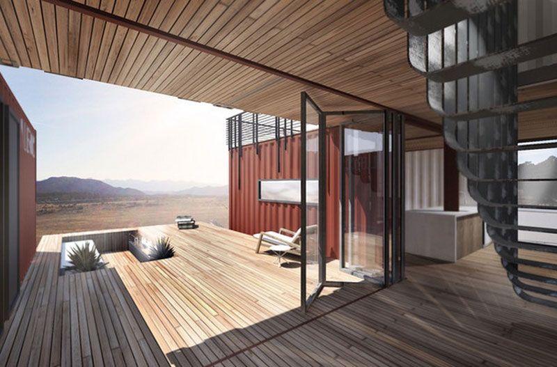 maison container une construction conomique et rapide construction maison construction et. Black Bedroom Furniture Sets. Home Design Ideas