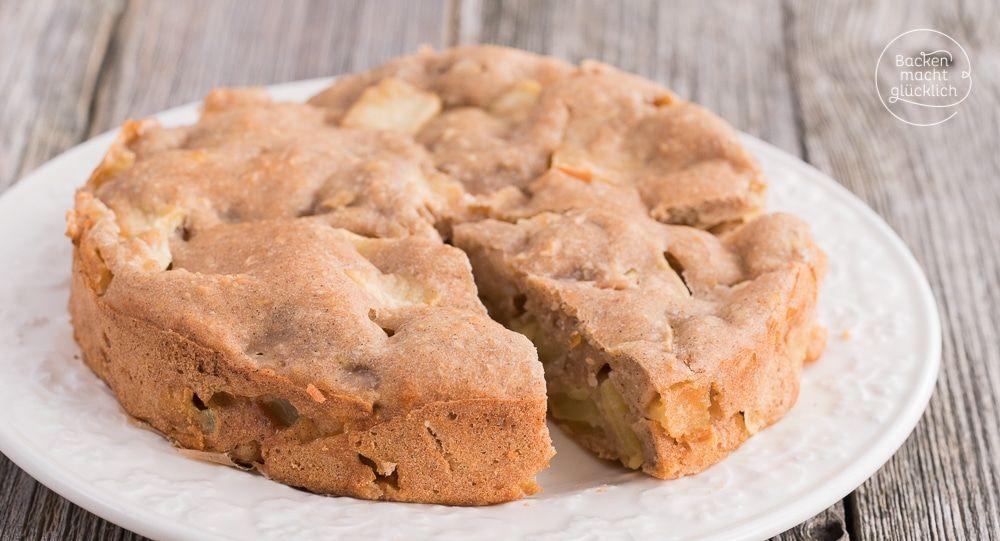 Apfelkuchen Ohne Zucker Butter Ei Recipe Backen Kuchen