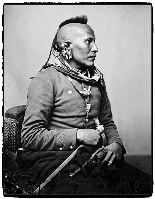 As-Sau-Taw-Ka (White Horse) - Pawnee - 1868