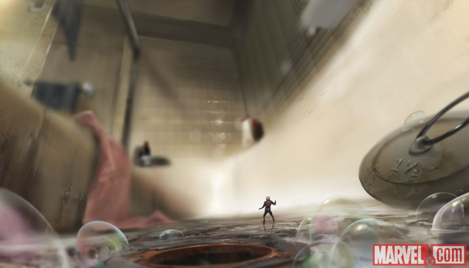 "Marvel's ""antman"" Concept Artworkrodney Fuentebella Ant Best Ants In Bathroom Design Decoration"