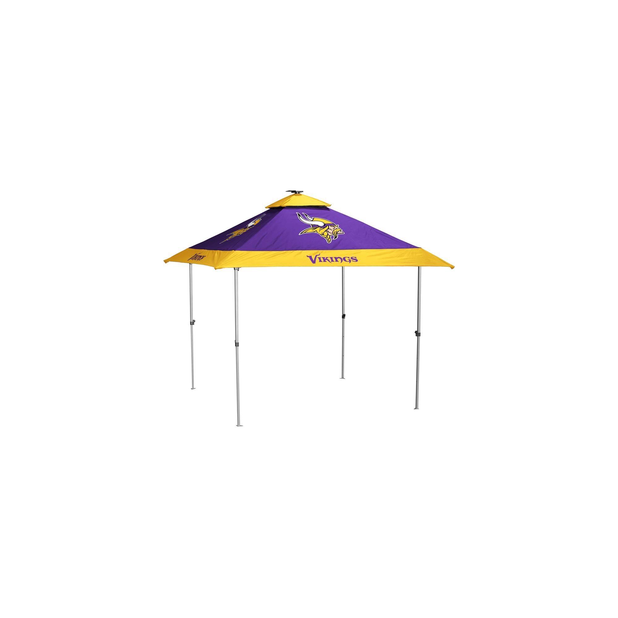 NFL Minnesota Vikings 10x10u0027 Pagoda Canopy Tent  sc 1 st  Pinterest & NFL Minnesota Vikings 10x10u0027 Pagoda Canopy Tent | Canopy tent ...