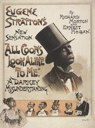 Song sheet cover featuring Eugene Stratton in All Coons Look Alike ...