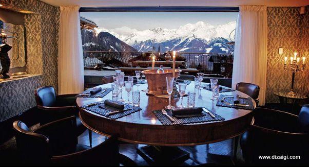 Chalé Platinum em Verbier, Suíça - Muito Luxo na Neve - Diz Aí Gi | Diz Aí Gi