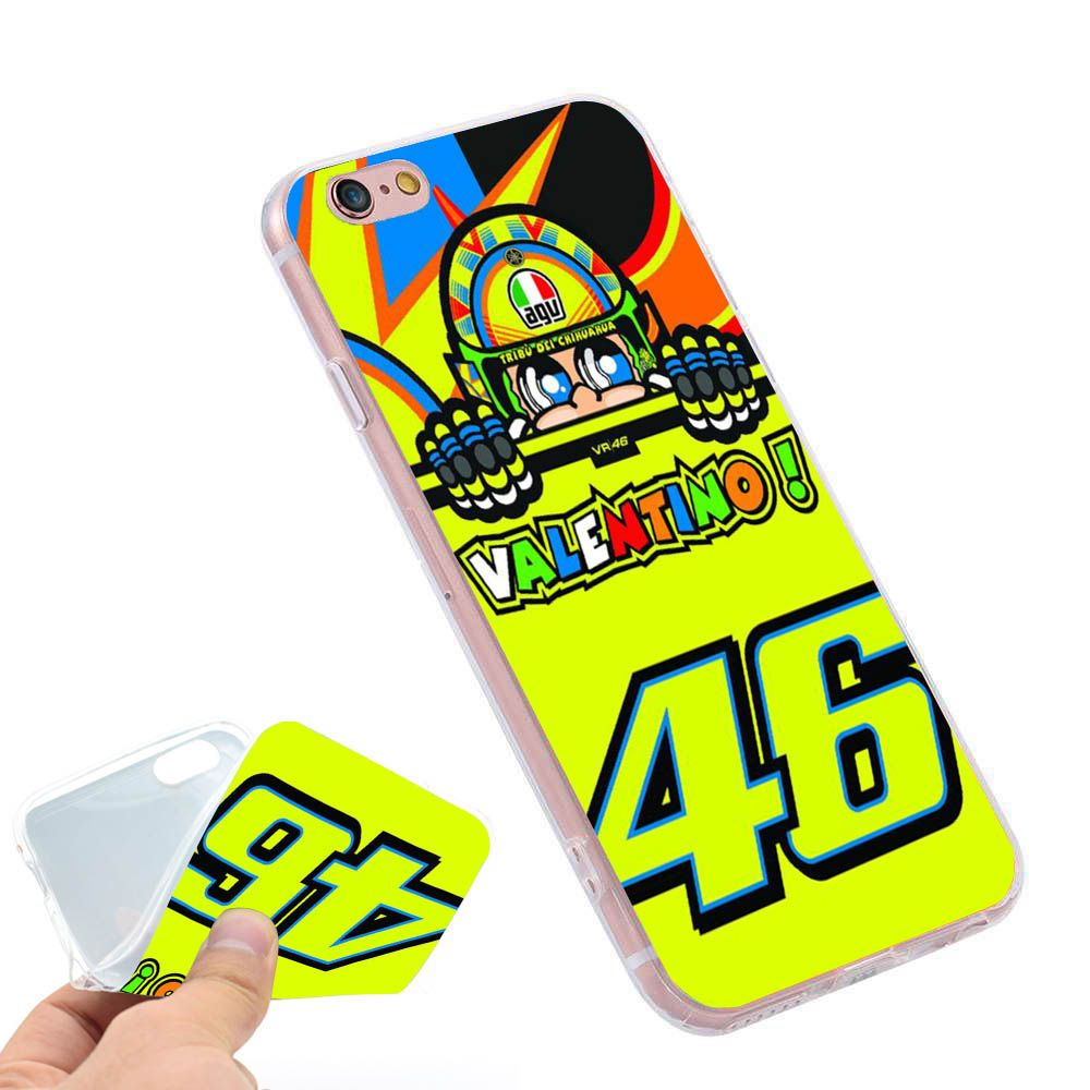 Toalla valentino rossi vr46 46  Clear Soft TPU Slim Silicon Phone Case Cover for iPhone 4 4S 5C 5 SE 5S 7 6 6S Plus 4.7 5.5 inch
