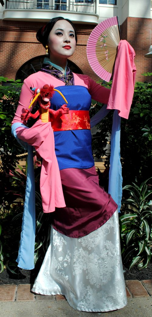 """From lome-lindi: """" My long-delayed Mulan/Ping cosplay dump. Costumes by me, worn from 2012-2013 at ANext and Katsucon. My awesome photographers: 1, 2 & 3, 4, 5 """""""