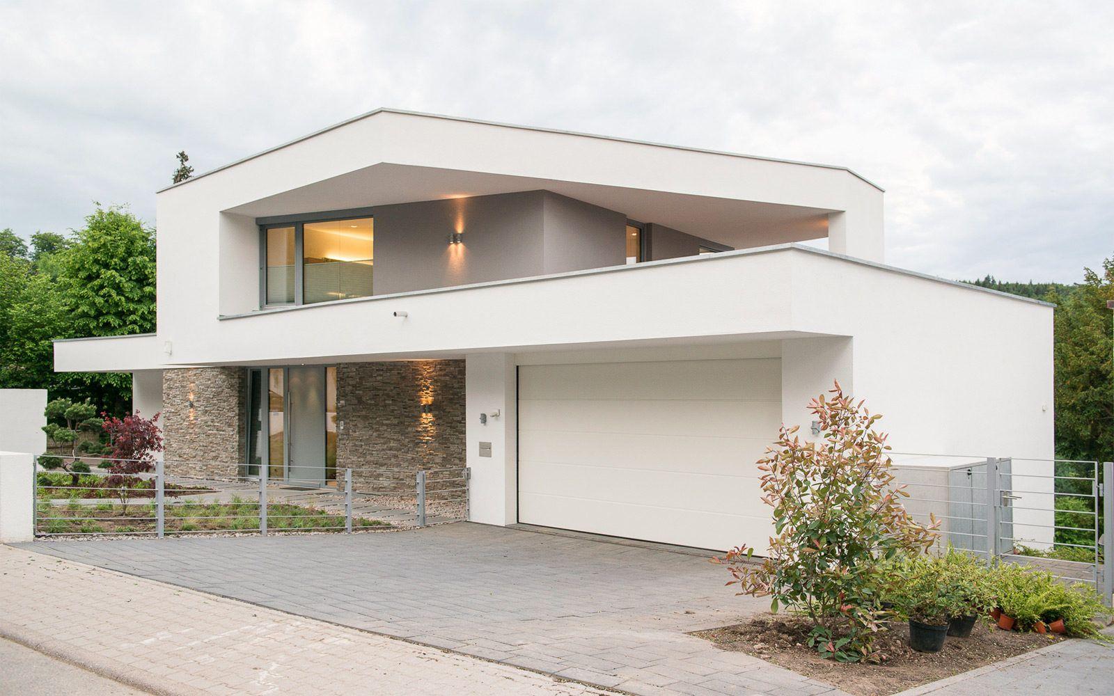 Modernes Fertighaus von Baufritz Haus Kieffer   Modern