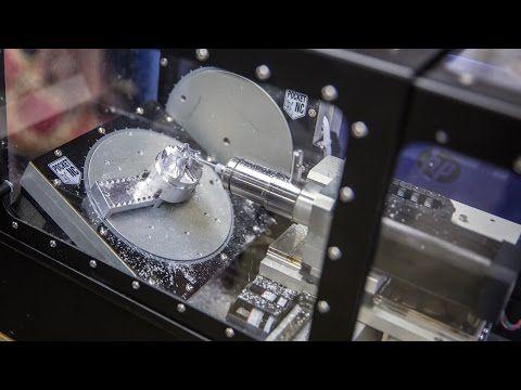 Pocket NC 5-Axis Desktop CNC Mill! - YouTube | CNC | Desktop