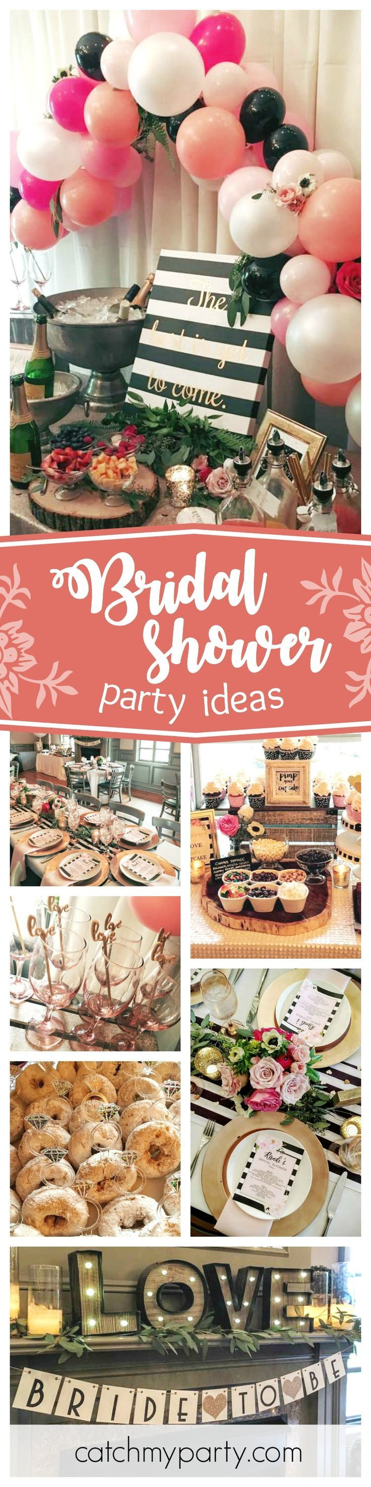 ideas for bridal shower brunch food%0A Bridal Wedding Shower Party Ideas   Shower party  Bridal showers and  Weddings