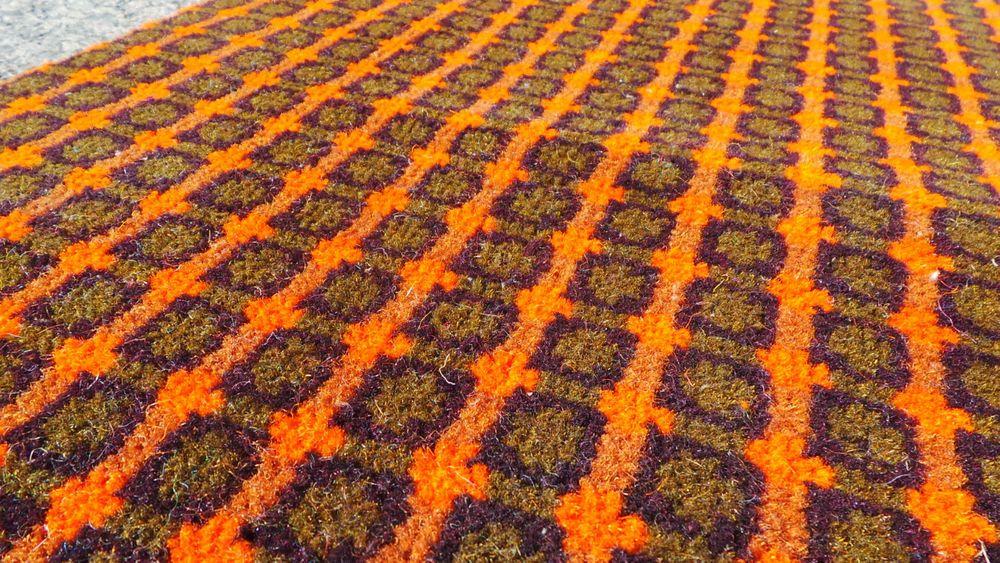 Genuine 1970 s Retro Axminster Hallway Runner Carpet, 93cm Width - £3.99Per/Ft