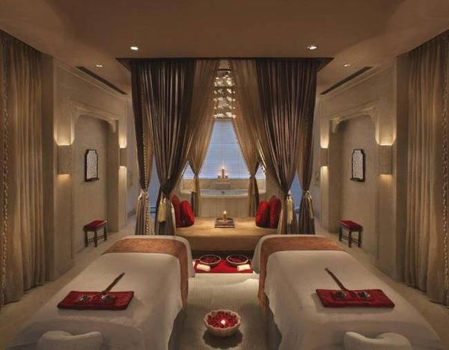 Indian Spa, love the colors
