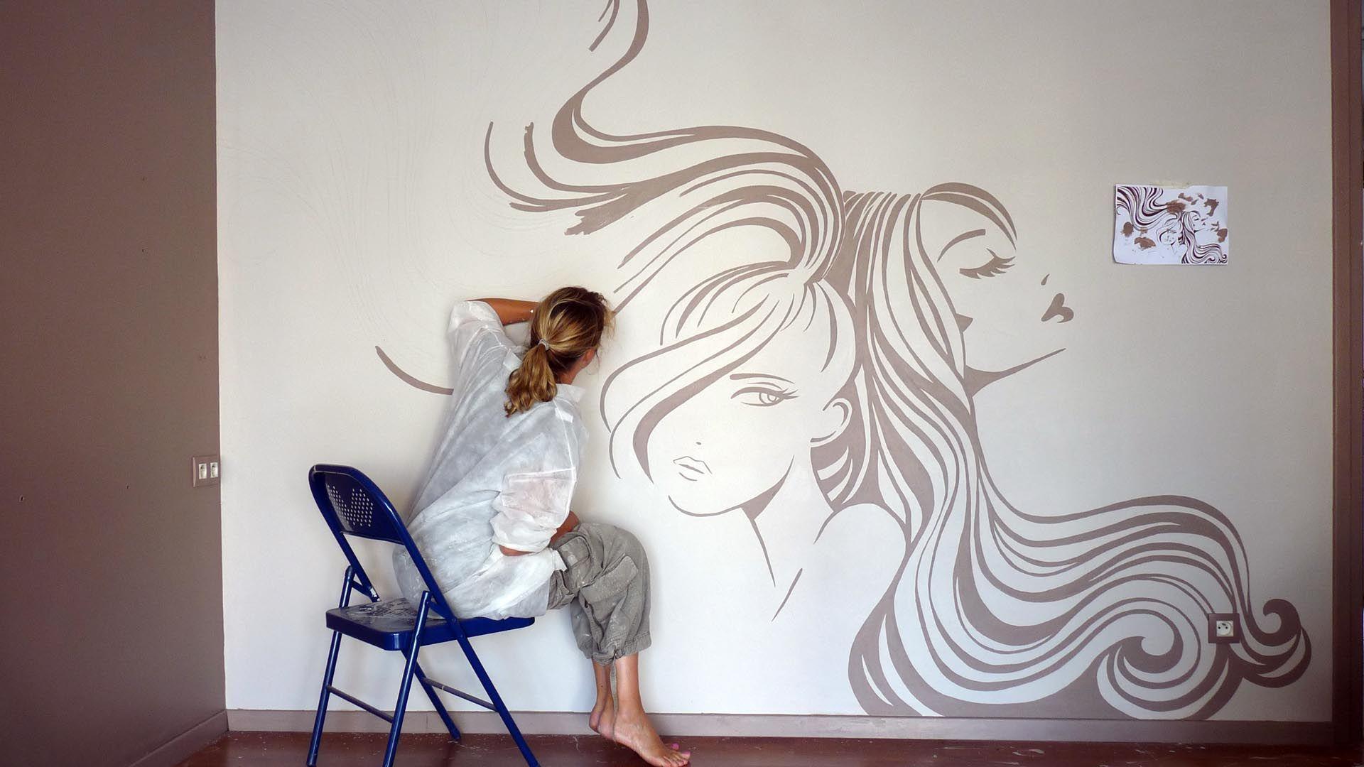 myland créations décoration fresques entre paris et deauville