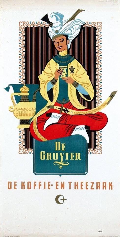 1951, affiche de Gruyter