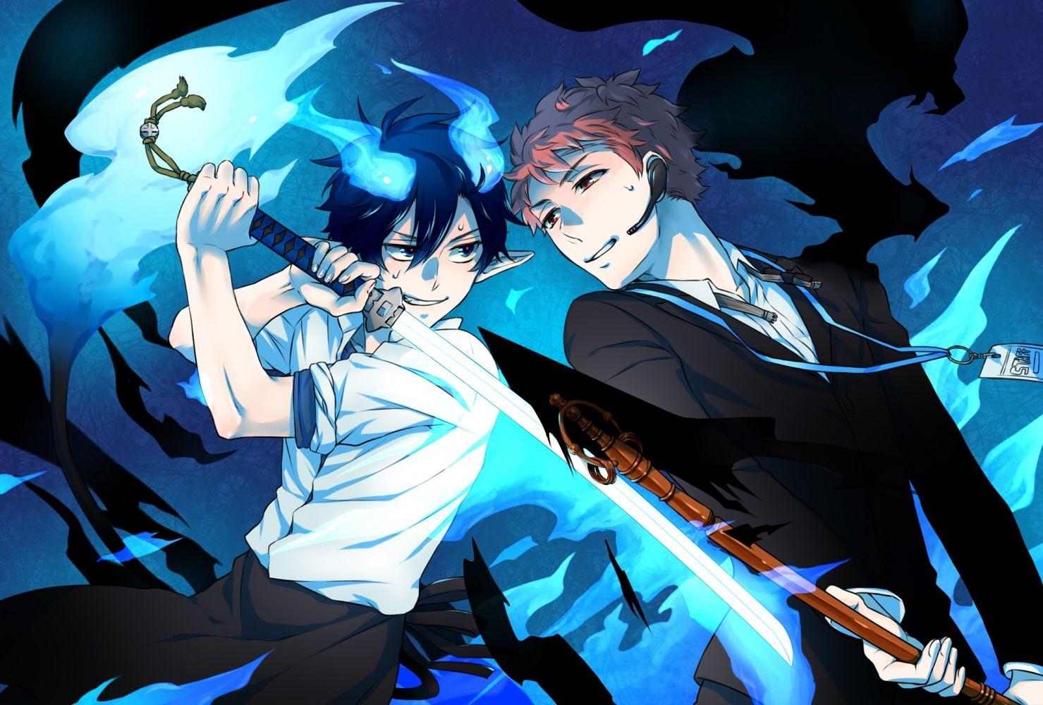 Anime Blue Exorcist Rin Okumura Ao No Exorcist Wallpaper Ao No