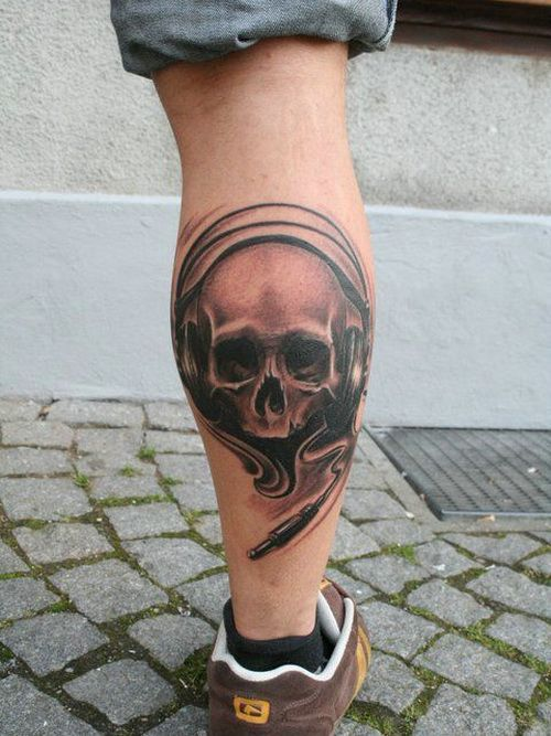 Best Simple Leg Tattoos For Men
