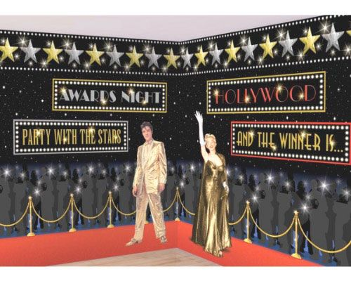 find this pin and more on hollywood theme - Hollywood Party Decorations