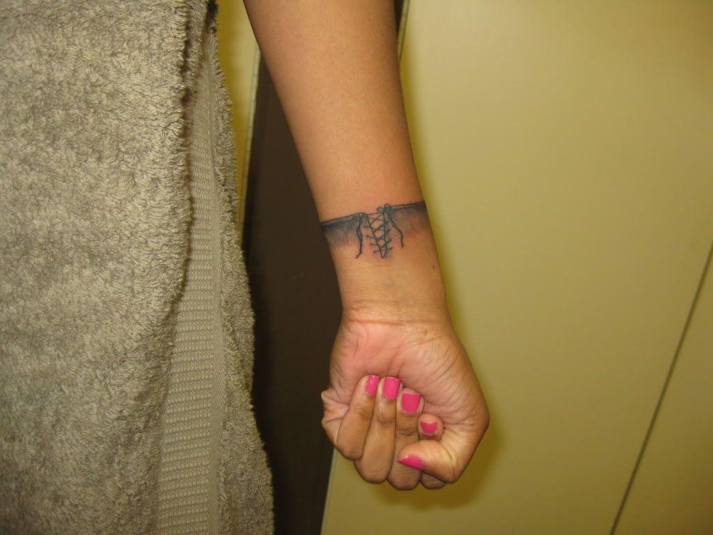 Boxing Glove Tattoo