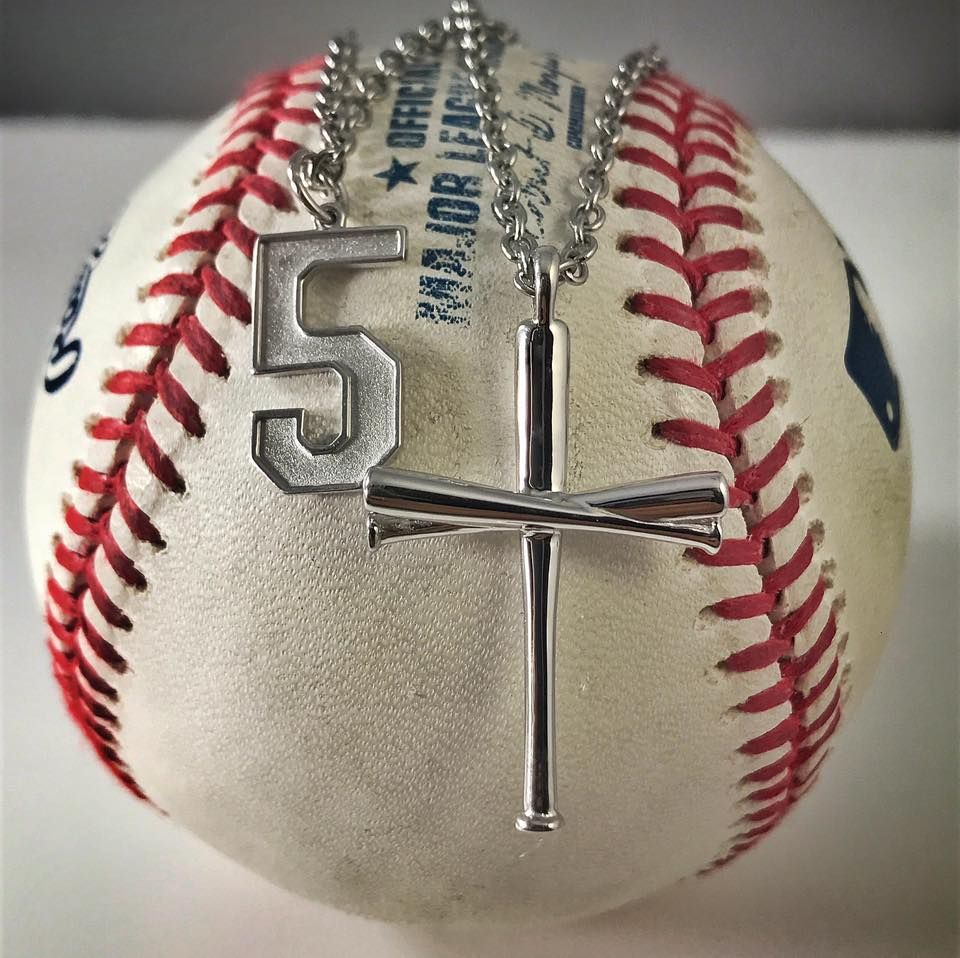 Pin by FiveTool Jewelry • Celebrating Christianity & Baseball on ...