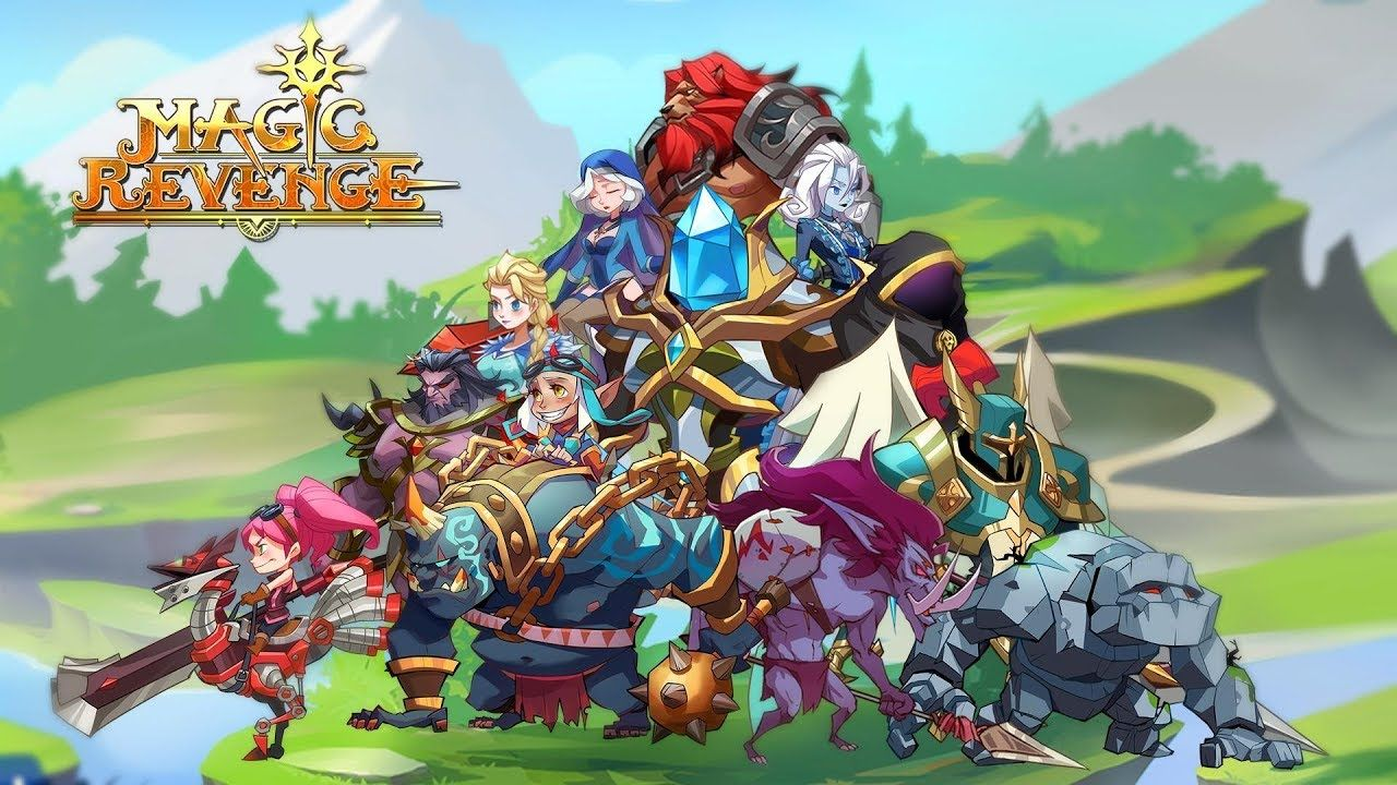 Magic Revenge Mighty AFK RPG android game first look