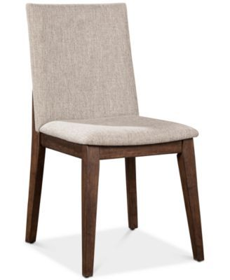 Enjoyable Crosby Upholstered Side Chair Created For Macys Chairs Dailytribune Chair Design For Home Dailytribuneorg