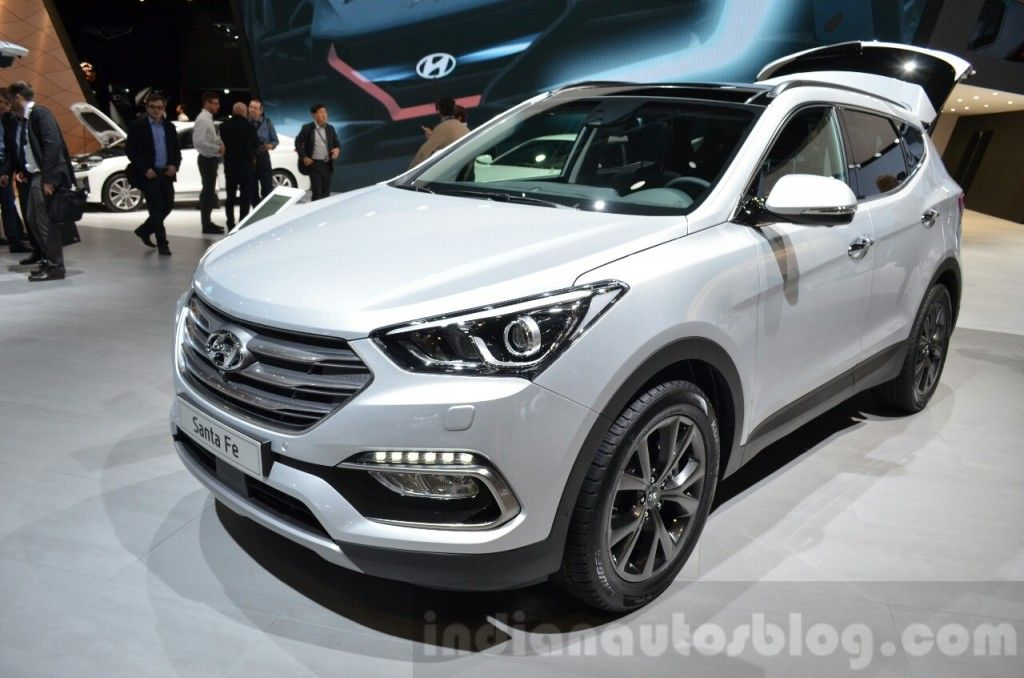 2016 Hyundai Santa Fe (facelift) Geneva Motor Show Live