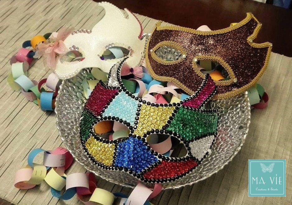 Aspettando Martedì Grasso: maschere personalizzate! (by Ma Vie Creations & Events)