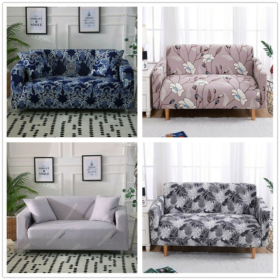 Stretch Sofa Cover Chair Cover Recliner Slipcover 1 2 3 4 Seater Protector Couch Kitchen Sofa Ideas Of Ki Fabric Sofa Cover Couch Prices Couch And Loveseat