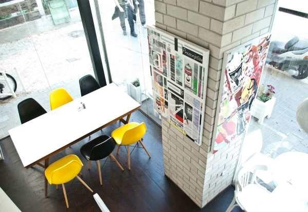 Betty White coffee shop