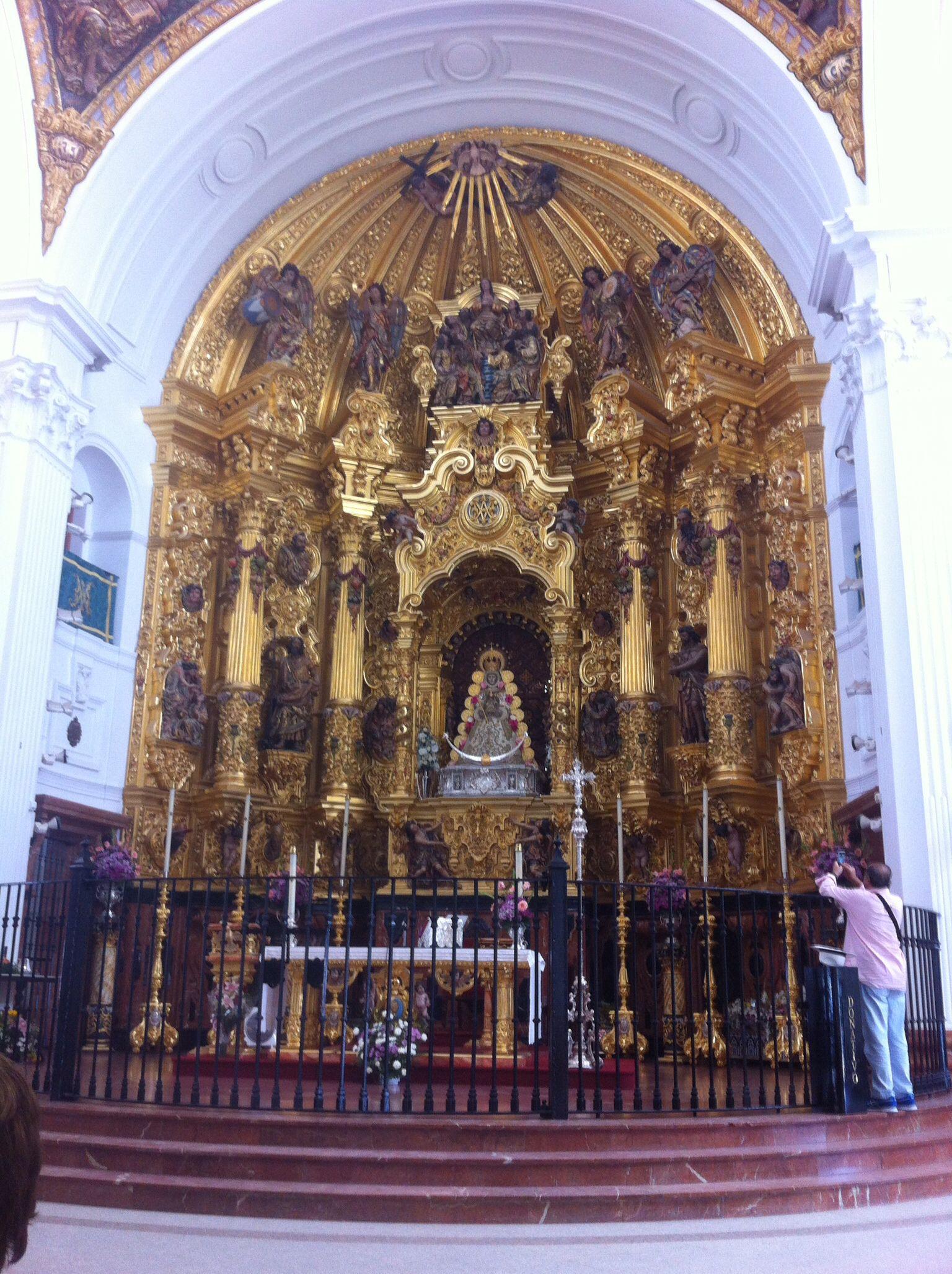 La Virgen del Rocío. Andalucía. Espańa