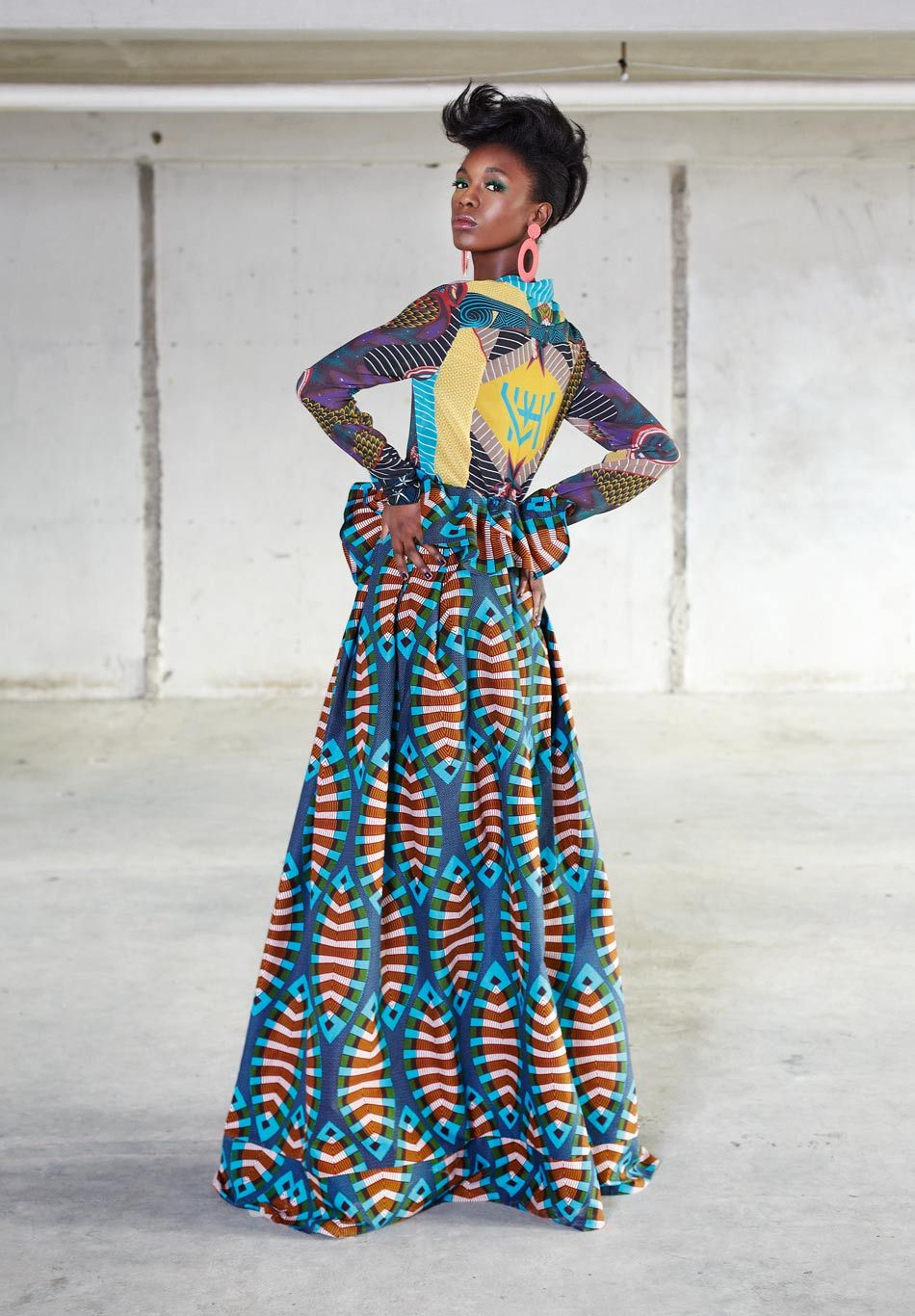 The Funky Grooves Collection By Vlisco African Fashion African Inspired Fashion Fashion