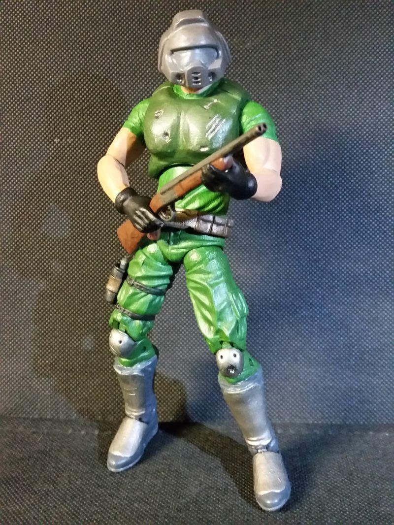 Classic Doomguy Doom Custom Action Figure Videojuegos