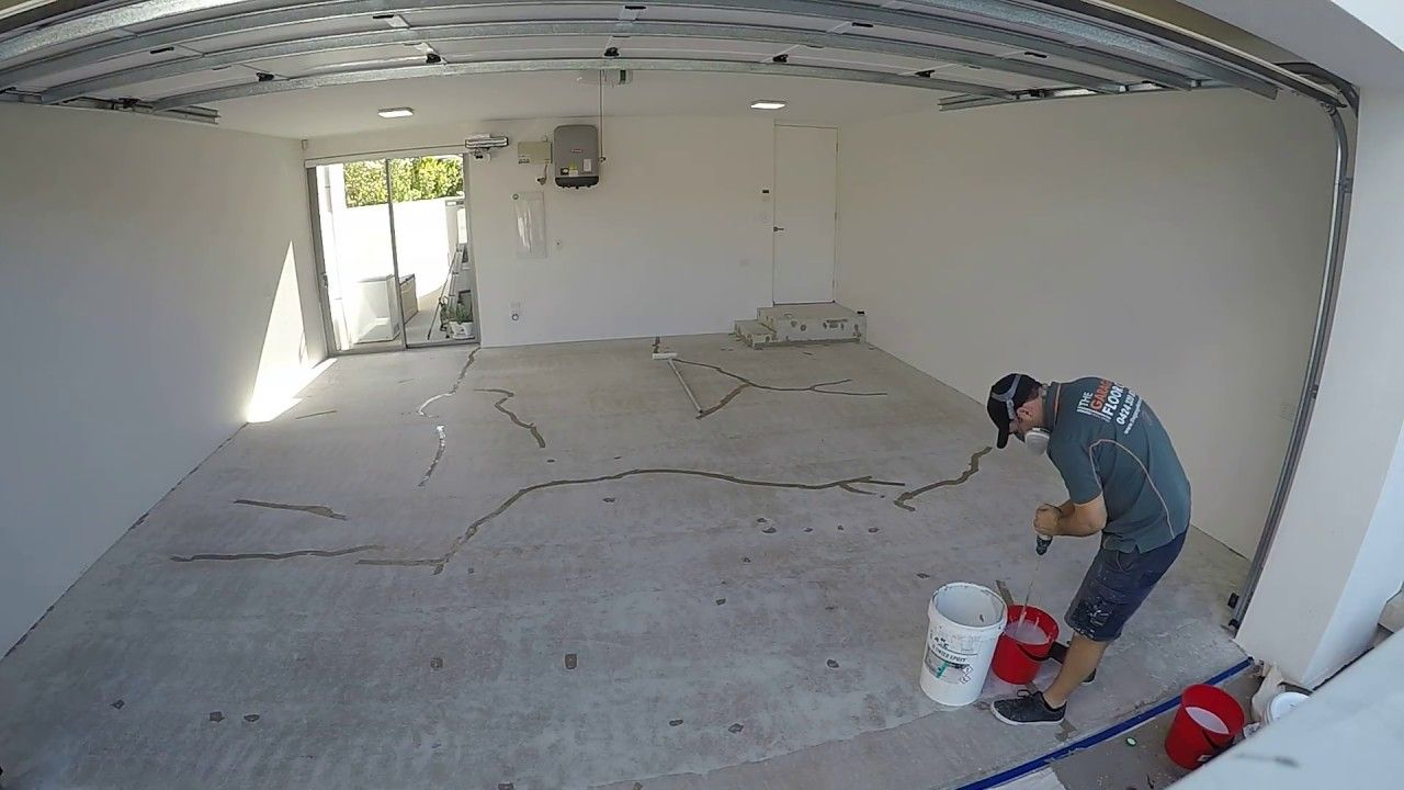 How To Install Epoxy Flooring Day 1