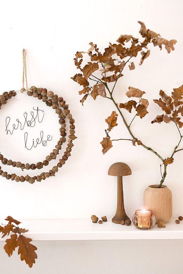 Herbstdeko Shop wunderschoen gemacht hallo herbst du schönes ding inspiration