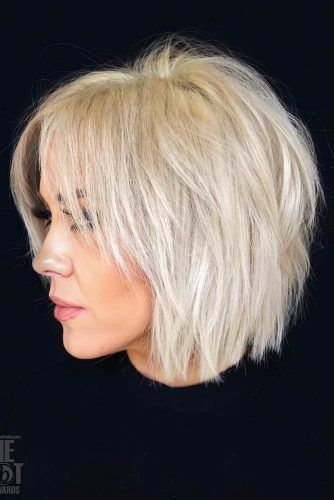 24 Fantastic Choppy Bob Hairstyles For All Moods And Occasions #shortlayeredhaircuts