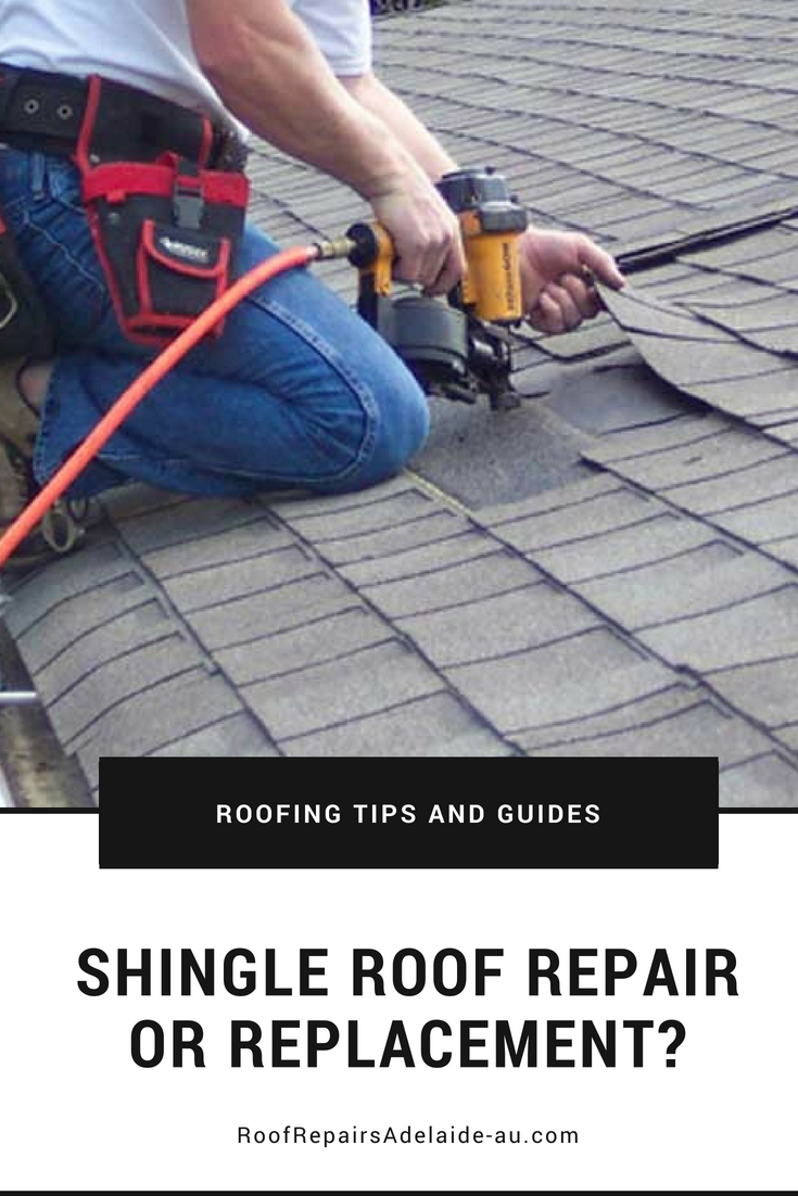 How to decide between shingle repair or replacement roofing diy