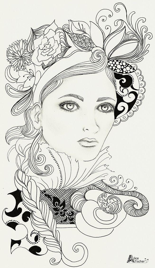 alice tischer — #illustration #fashionillustration #