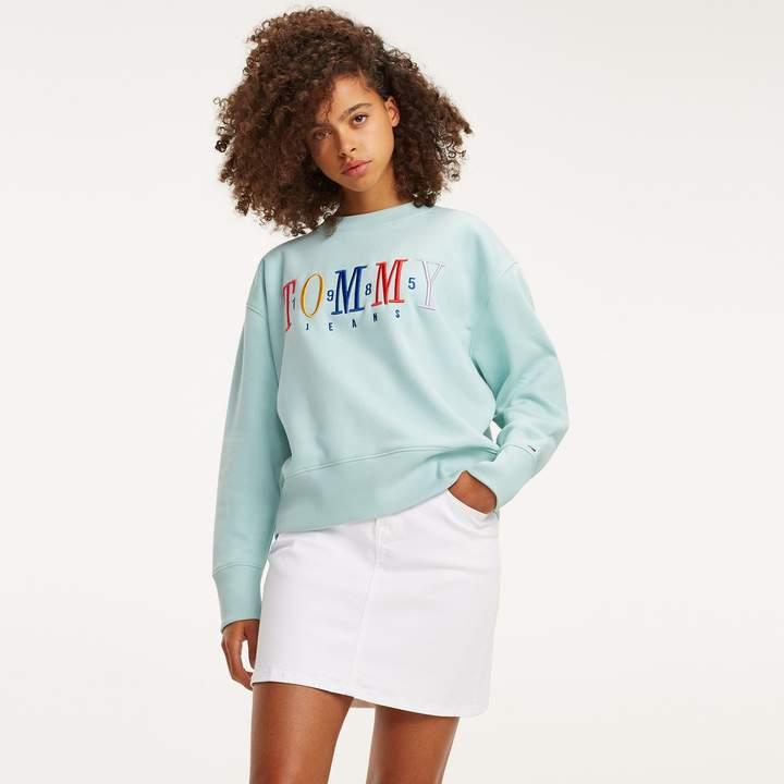 Tommy Hilfiger Tommy Girl Crew Neck Damen Kurzarm T Shirt Navy Blazer Verkauf bei Country Attire