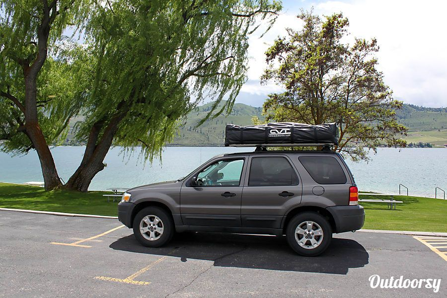 2005 Ford Escape With Cvt Summit Series Roof Top Tent Bellingham