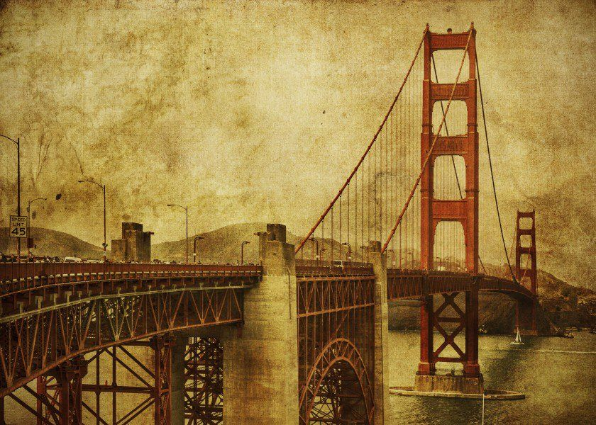The Golden Gate Bridge stretching across San Francisco Bay. A timeles  The Golden Gate Bridge stretching across San Francisco Bay. A timeles Gallery quality print on thick 45cm / 32cm metal plate. Each Displate print verified by the Production Master. Signature and hologram added to the back of each plate for added authenticity & collectors value. Magnetic mounting system included.  EUR 48.00  Meer informatie