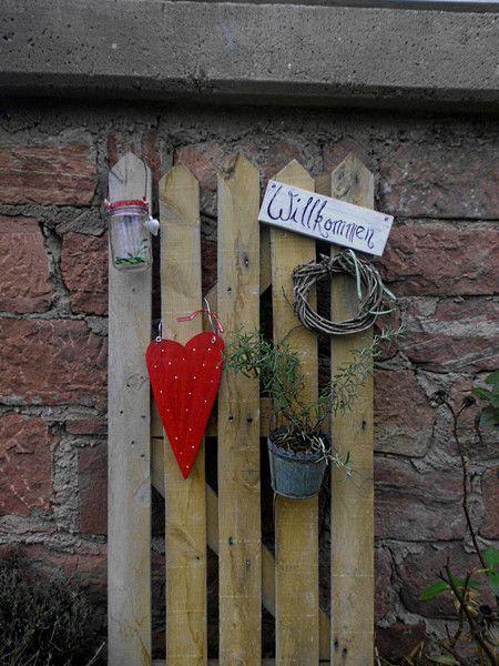 Zaun Landhaus Von Haus No 7 Auf Dawanda Com Garten Pinterest