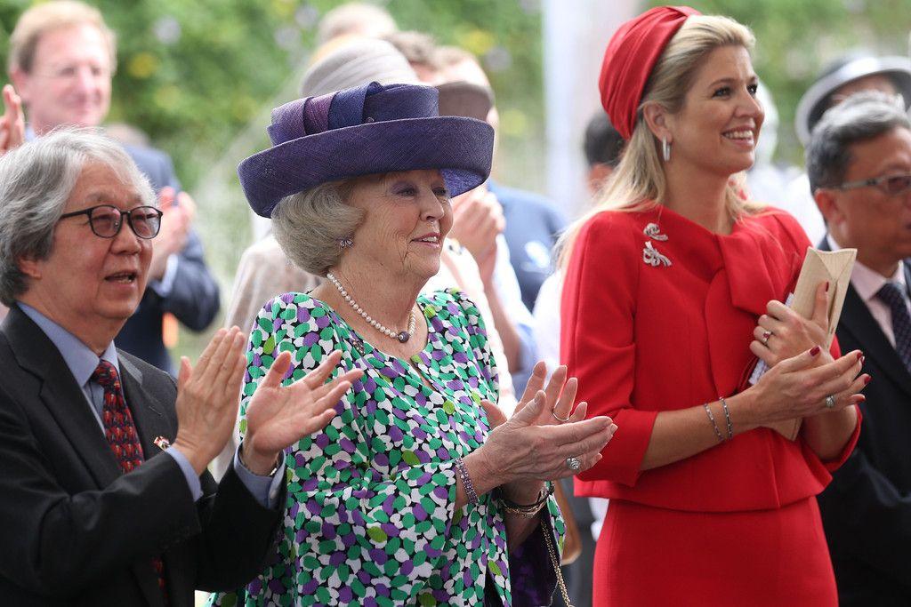 Princess Maxima - Queen Beatrix Visits Singapore