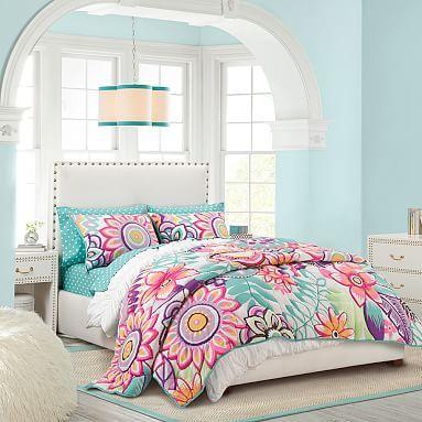 miller dean tropical p set black htm pillow designer birds palms paradise by comforter of covers duvet