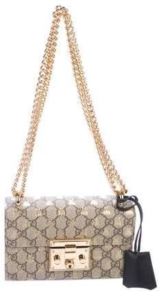 8625b2cc817f Small Padlock GG Supreme Bee Shoulder Bag | Products