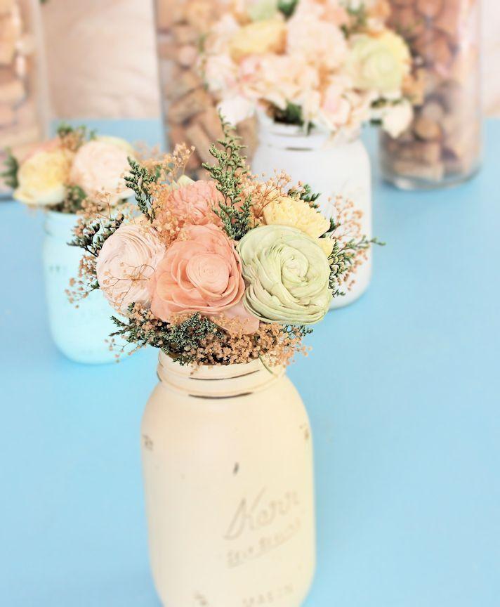 Low Budget Wedding Reception Ideas: Wedding Centerpiece Flowers, Small, Wedding Reception