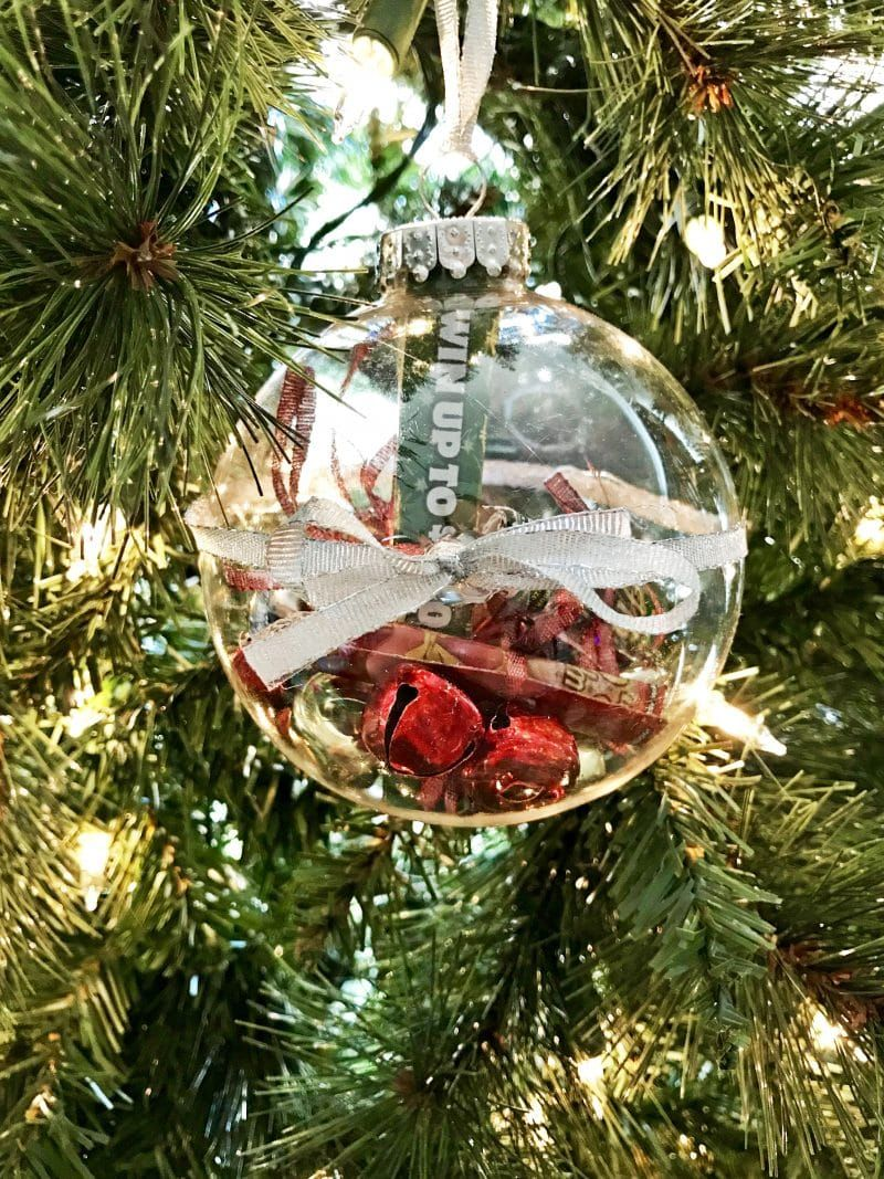 This ChristmasLottery Ticket Ornament is a fun and easy DIY gift idea perfect for teachers, neighbors, and anyone over 18 on your holiday shopping list!